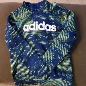 Boys Adidas hoodie size m 10/12
